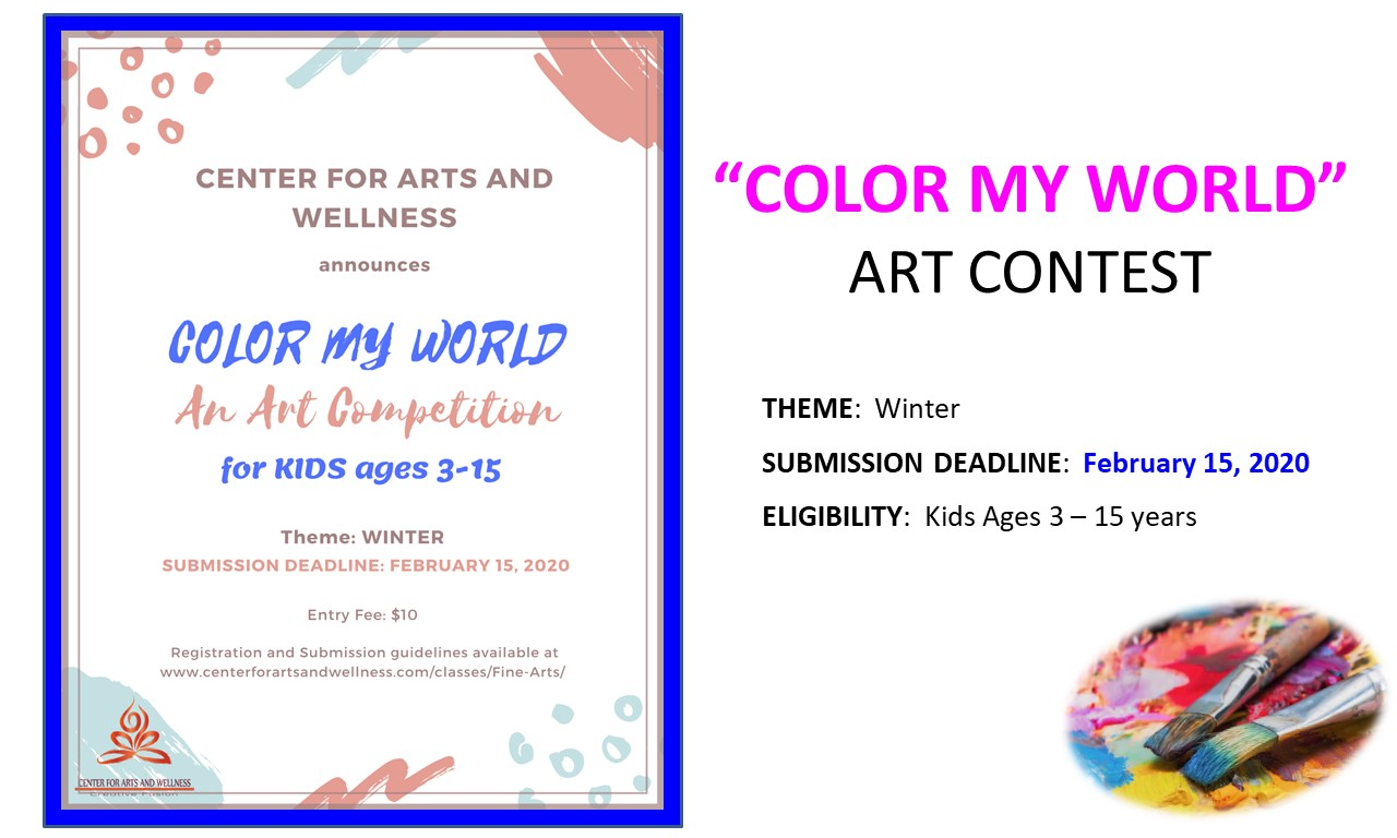 Art Contest-Color My World-Winter 2020
