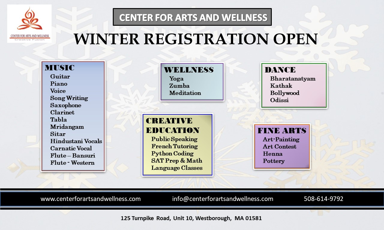 Winter Registration 2020